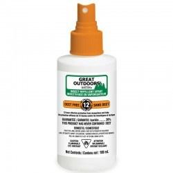 Insectifuge vaporisateur sans DEET avec Icaridine 100 ml