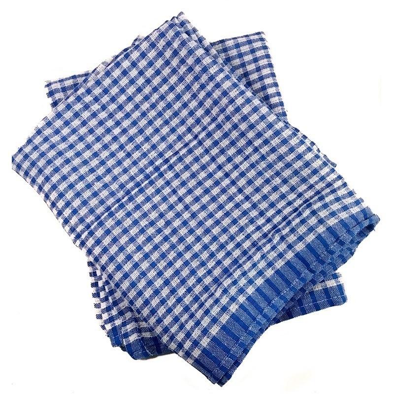 Linge à vaisselle Gaufré bleu 1 DZ