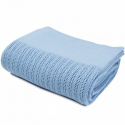Couverture thermale bleue